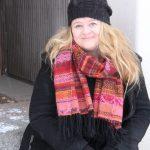 Projektipäällikön sijaisena aloittanut Anniina Aunola kuopiolaisille tutulla Barson kulmalla.